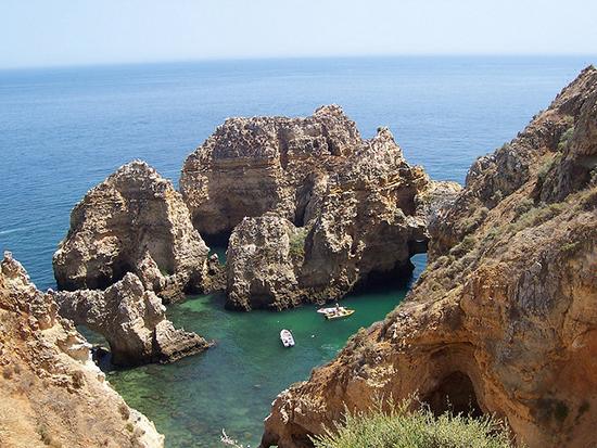 Erkundung der Algarve Küste