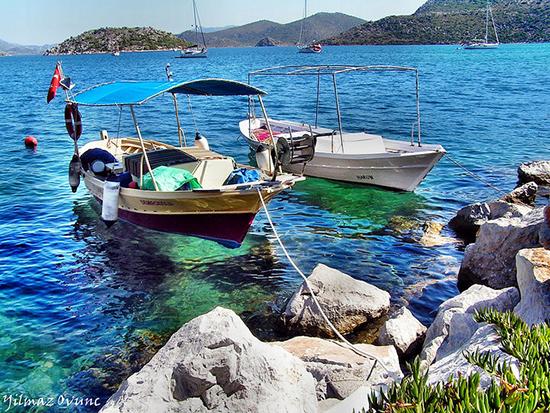 Die türkische Riviera: das angenehme mediterrane Wetter genießen