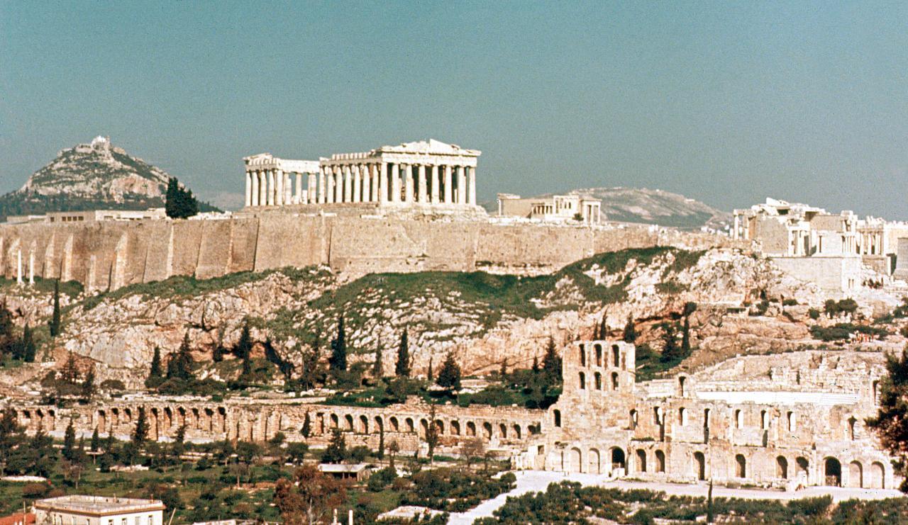 Die besten Aussichten auf die Akropolis in Athen
