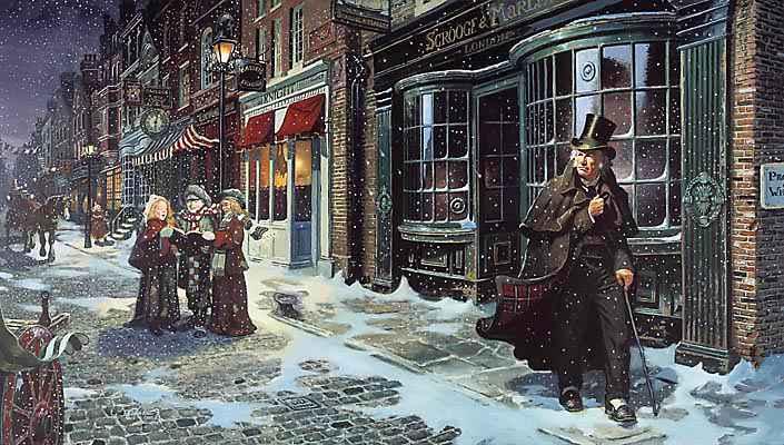 """Die Dickens Tour und seine """"Weihnachtsgeschichte"""""""