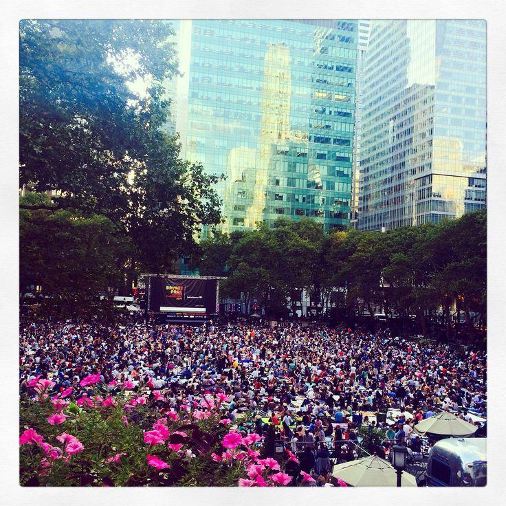 Bryant Park: Filme im Park