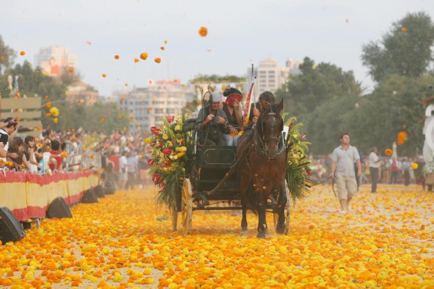 Die Blumenschlacht von Valencia