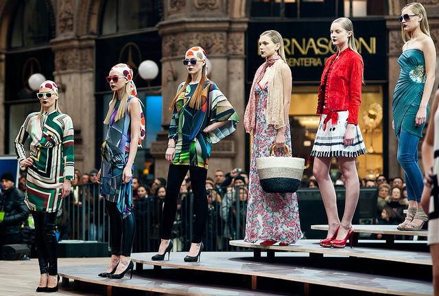 Der Monat der Fashion Weeks in NY, London, Mailand und Paris