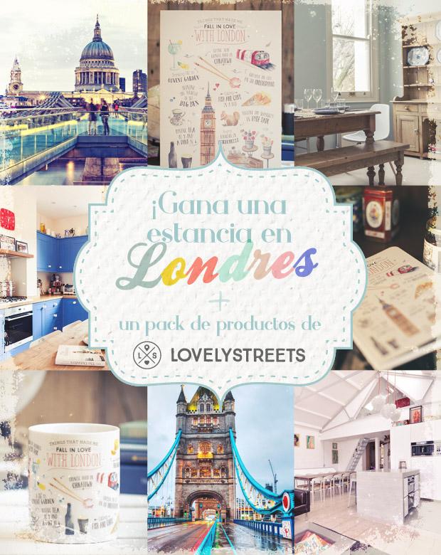 Gewinne einen Aufenthalt in London + ein Produkte-Kit von Lovely Streets!