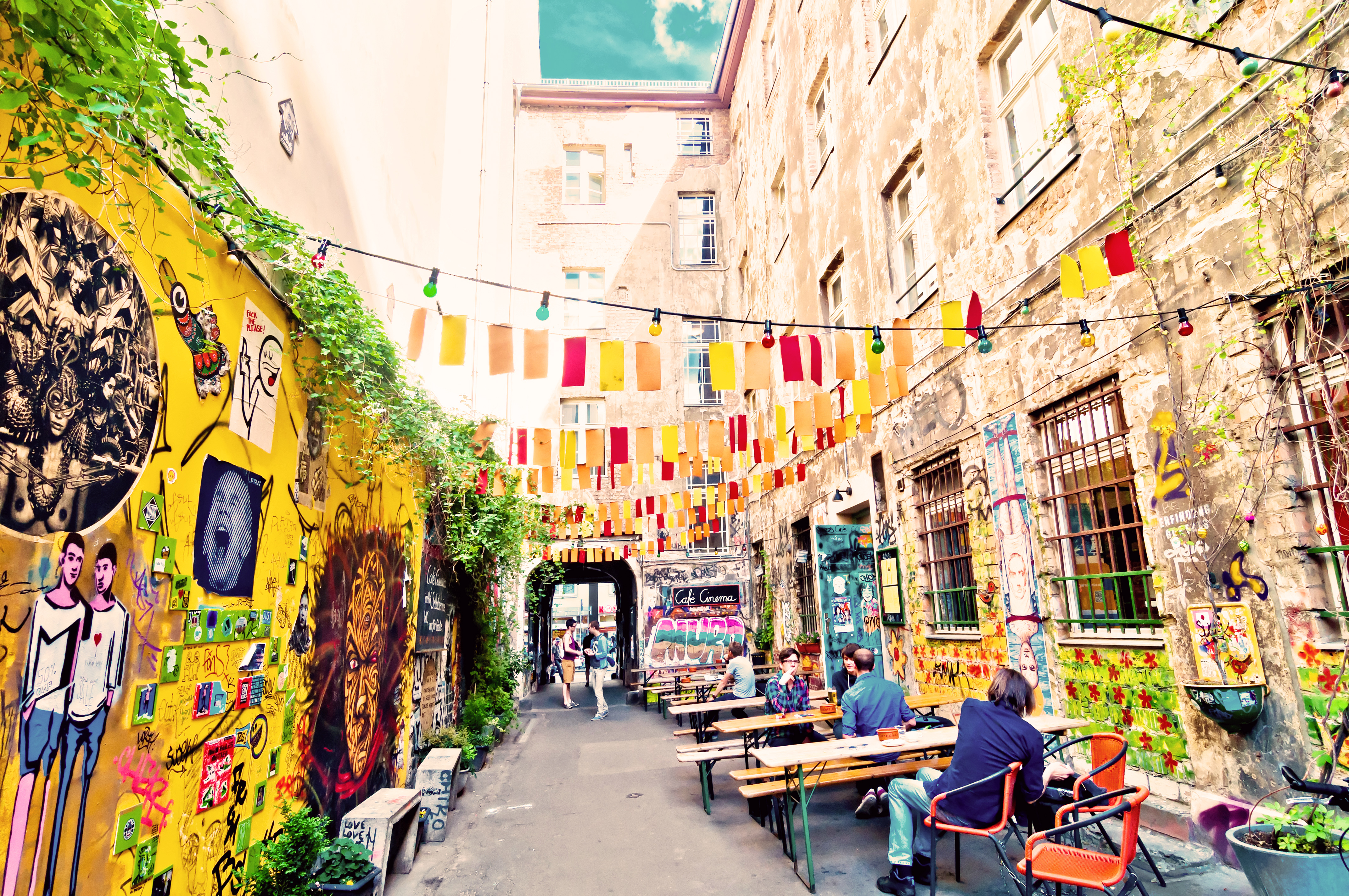 Kreuzberg, das Hipster-Viertel von Berlin
