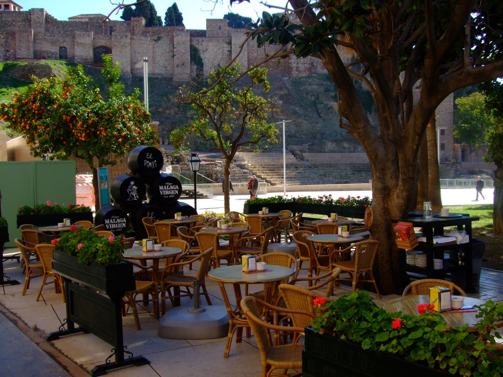 Abendpläne in Málaga