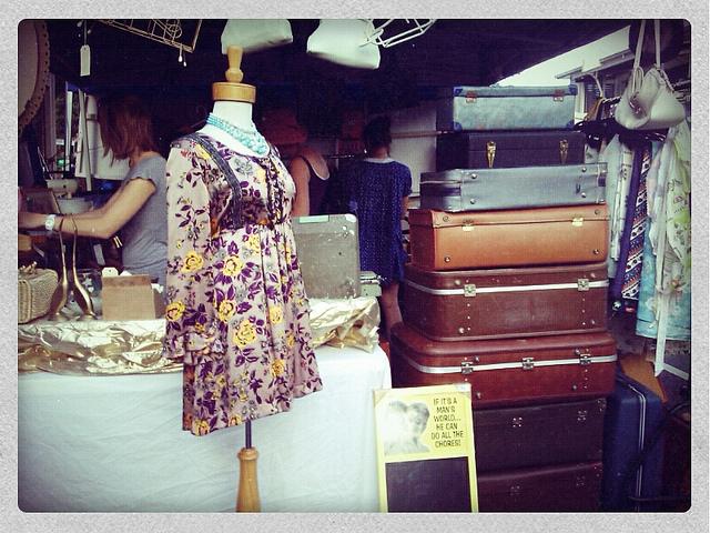 Ein Spaziergang zu den Pariser Second Hand-Shops
